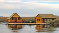 School Houses on Floating Reed Islands